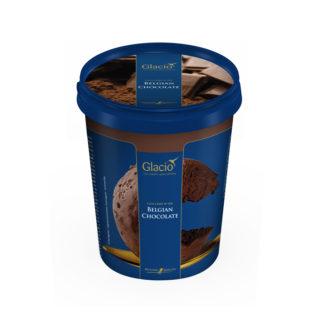 蜂雪颂金勺比利时巧克力冰淇淋