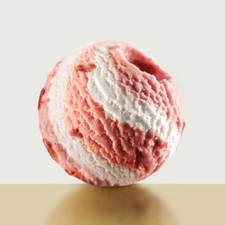 蜂雪颂草莓奶油冰淇淋